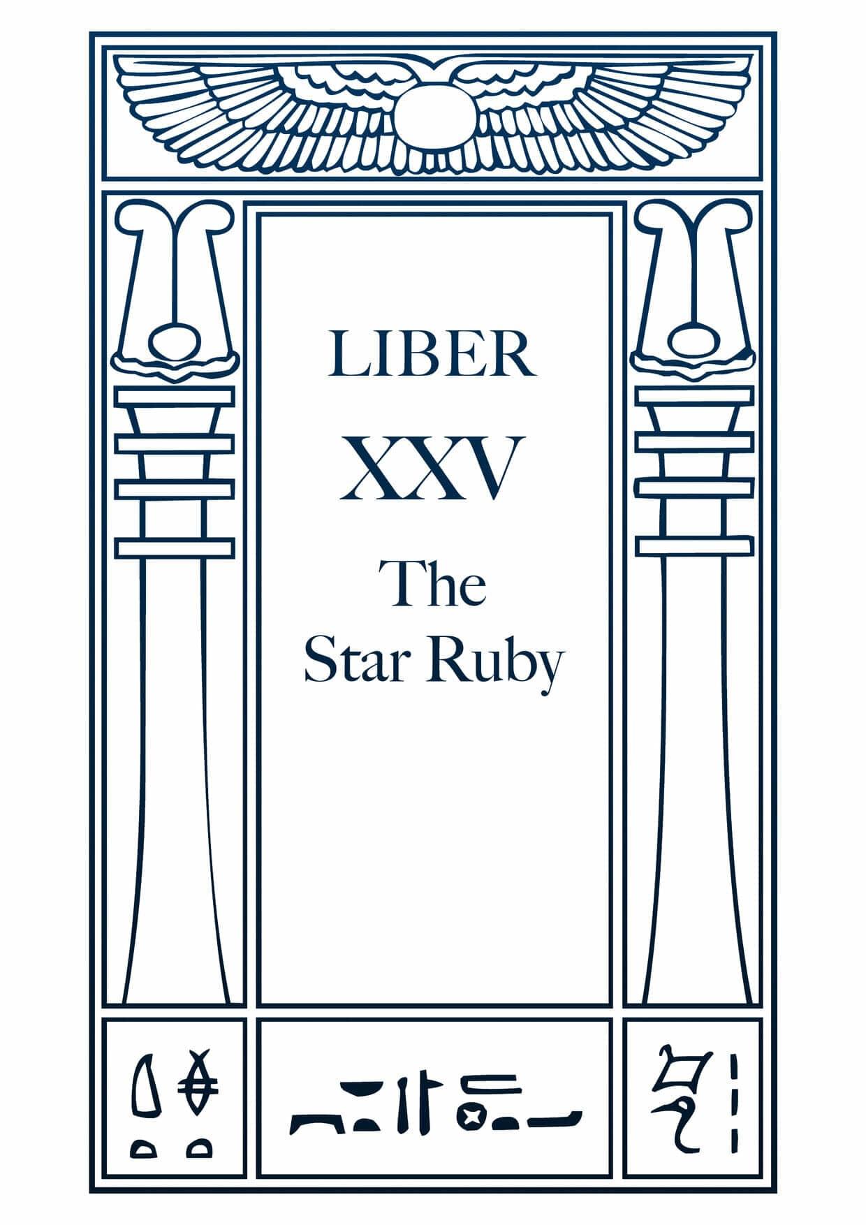 Liber XXV – The Star Ruby