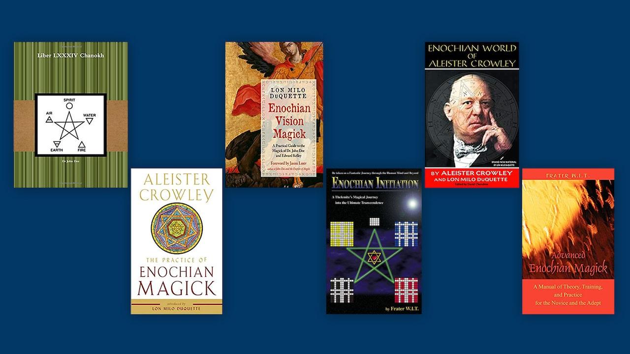Cărți recomandate #10 – Magie Enochiană