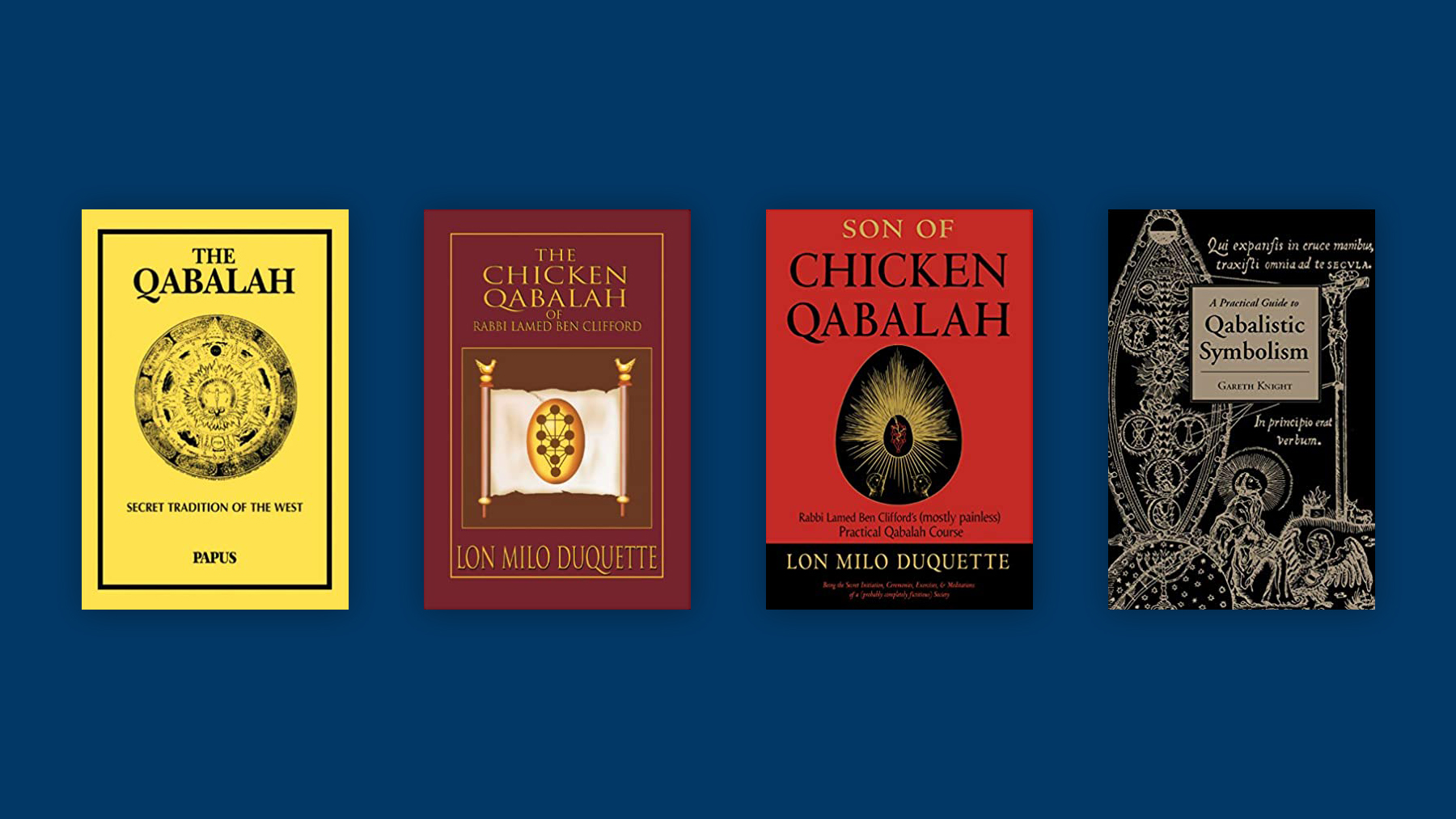 Cărți recomandate #9 – Qabalah